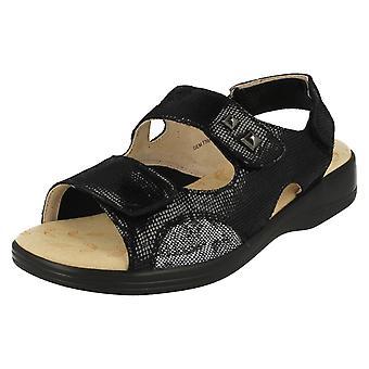Ladies Padders Casual Sandals Gem