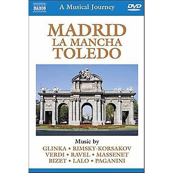 Madrid La Manca Toledo [DVD] USA import