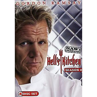 Hell's Kitchen - Hell's Kitchen: Season 4 Raw & Uncensored [DVD] USA import