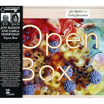 Jon Raskin & Carla Harryman - Open Box [CD] USA import