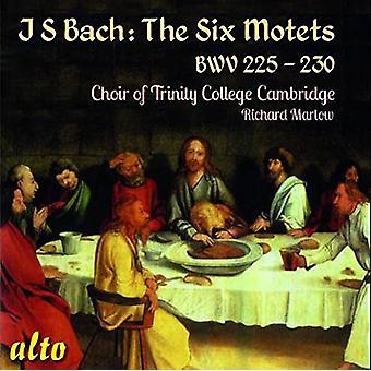 Choir of Trinity College, Cambridge Ric - Bach J.S: The Six Motets Bwv 225-230 [CD] USA import