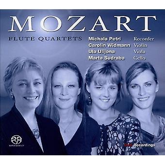 W.a. Mozart - Mozart: Flute Quartets [CD] USA import