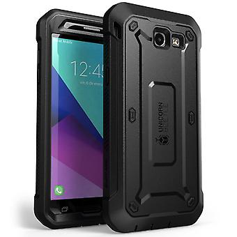 Galaxy J3 Emerge Case, SUPCASE, Unicorn Beetle Pro Series, Full-body Rugged Holster Case with Built-in Screen