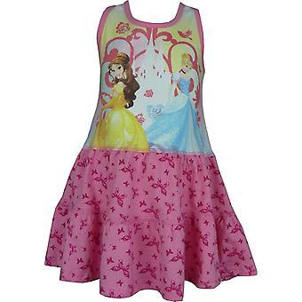 Vestido sin mangas de las chicas Disney princesa verano