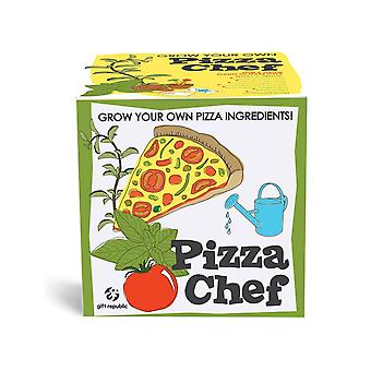 Gift Republic sow and grow pizza ingredients plants set