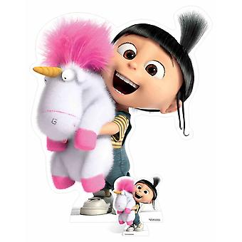Agnes and Fluffy Unicorn Despicable Me 3 Cardboard Cutout / Standee /  Standee / Stand up
