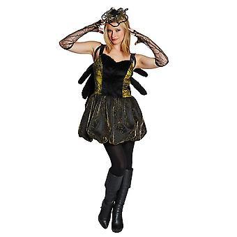 Kostüme Frauen Spinne verkleiden Kostüm halloween