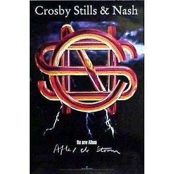 Crosby Stills Nash na de Storm Album Cover affiche