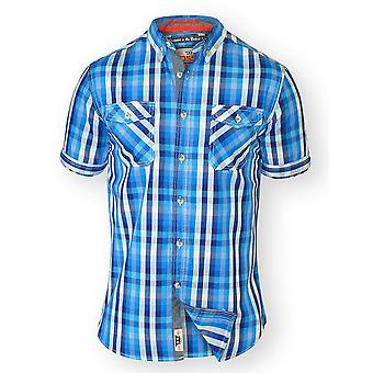 D555 Emanuel Tall Mens Check Shirt