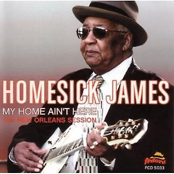 Homesick James - My Home Ain't Here-New Orleans Session [CD] USA import