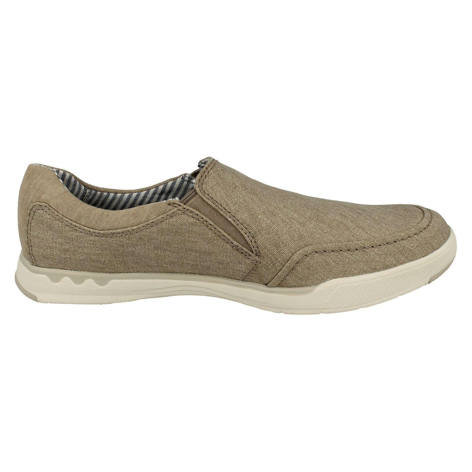 Mens Clarks Slip Casual Chaussures Étape Isle Feuillet