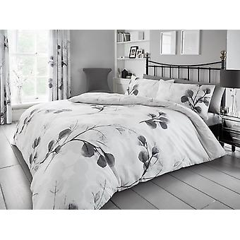 Honesty Leaf Floral Duvet Cover Set