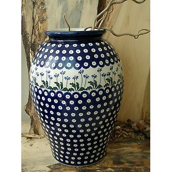 Floor vase, height 32 cm, tradition 11 Upper Lusatia ceramic - BSN 5078