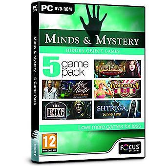 Sinnen och mysterium-5 Game Pack (PC DVD)-nytt