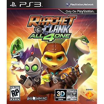 Ratchet en Clank allemaal voor één (PS3)-fabriek verzegeld