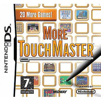 Mere Touchmaster (Nintendo DS)-fabriks forseglet