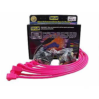Taylor Cable 78751 Spiro-Pro Hot Pink Ignition Wire Set