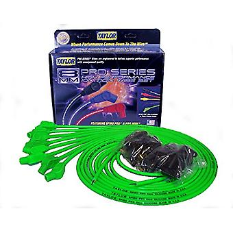 Taylor Cable 78553 Hot Lime Universal 8mm Spiro-Pro Ignition Wire Set