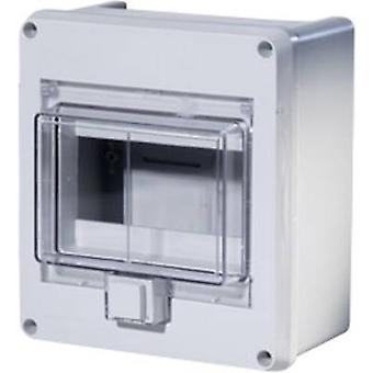 F-Tronic 7240051 KV06WDKE Switchboard cabinet Surface-mount No. of partitions = 6 No. of rows = 1