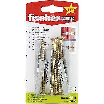 Fischer UX 8 x 50 SK Universal dowel 50 mm 8 mm 77856 5 pc(s)