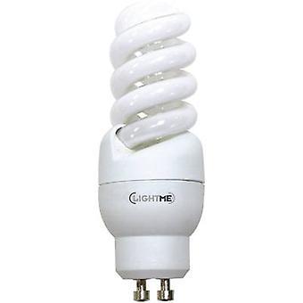 LightMe Energy-saving bulb EEC: A (A++ - E) GU10 93 mm 230 V 9 W = 39 W Warm white Spiral shape 1 pc(s)