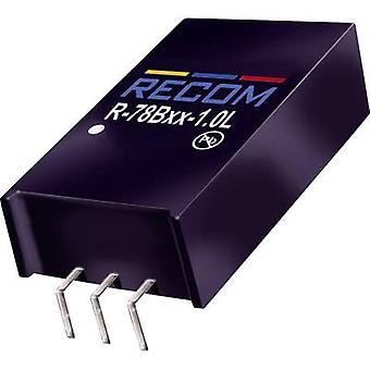 RECOM R-78B 9.0-1.0 L DC/DC-muunnin (tulostus) 32 V DC 9 V DC 1 A 9 W ei. Lähdöt: 1 x