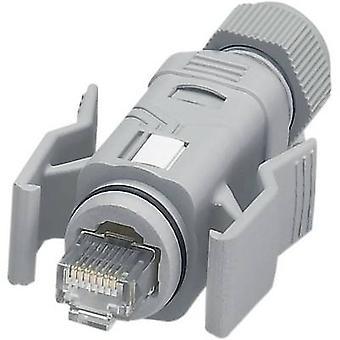 Phoenix Contact 1656990 VS-08-RJ45-5-Q/IP67 RJ45-kontakten kontakten IP67 - CAT5e 8 RJ45 kontakten, rak grå