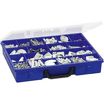 Berger & Schröter Assortment case (L x W x H) 365 x 291 x 64 mm No. of compartments: 18 fixed compartments 1 pc(s)