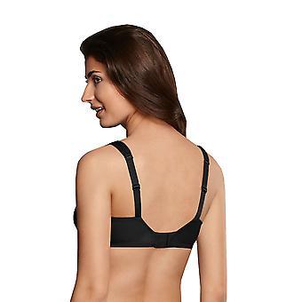 Zachte beha van Rosa Faia 5620-001 vrouwen Grazia zwart effen kleur