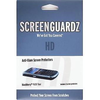 BodyGuardz-ScreenGuardz + HD-näytön suoja BlackBerry 9630-kiertueelle, 9650 rohkea
