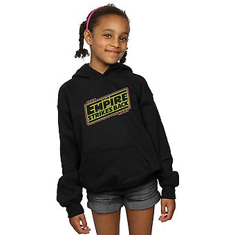 Star Wars Girls The Empire Strikes Back Logo Hoodie