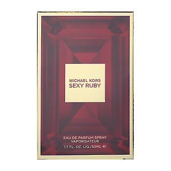 Michael Kors seksikäs Ruby Eau De Parfum Spray 50 ml: 1.7 Oz uusi laatikko