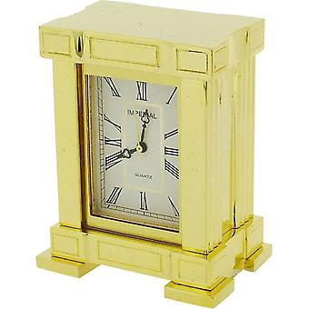 Gift Time Products French Mantel Miniature Clock - Gold