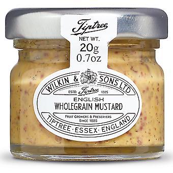 Tiptree Wholegrain English Mustard Portion Pots