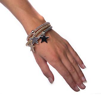 Bracelet Mixed Metals-Star