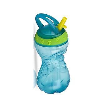 Nuby Active Sipeez Free Flow Flip-It 10oz/300ml Bottle