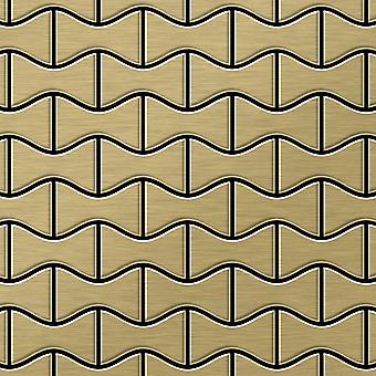Kovová mozaika titanové slitiny Kismet-ti-GB