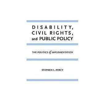 Discapacidad - derechos civiles - y política pública - la política de la Implem