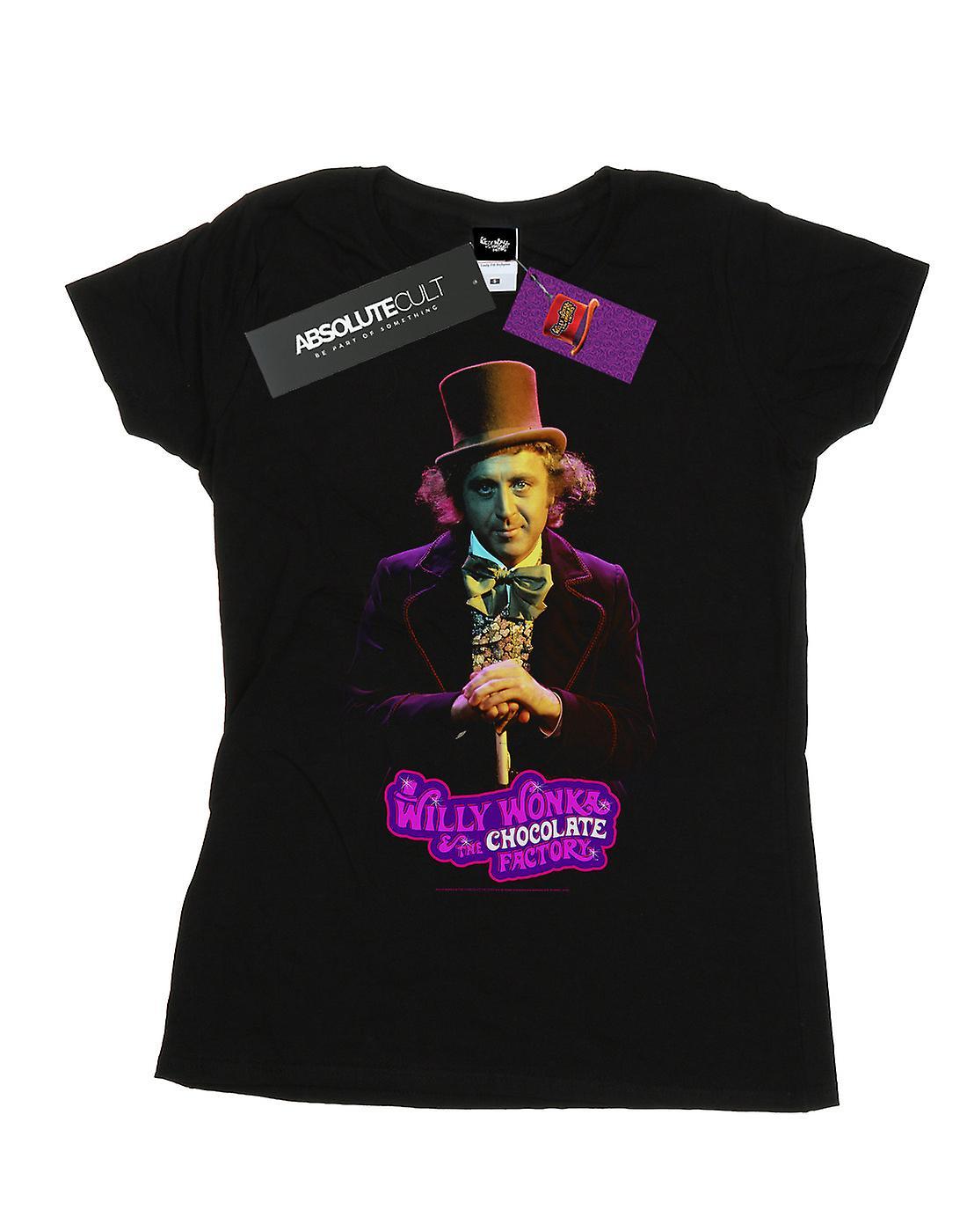 Willy Wonka And The Chocolate Factory Women's Dark Pose T-Shirt