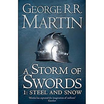 Ein Sturm der Schwerter: Stahl und Schnee (Reissue): Buchen Sie 3 Teil 1 von A Song of Ice and Fire