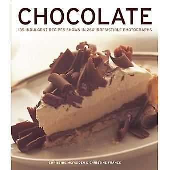 Chocolade: 135 toegeeflijk recepten in 260 onweerstaanbare foto's weergegeven