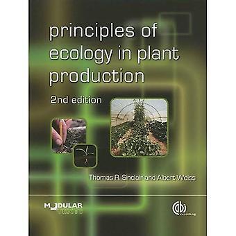 Principes de l'écologie de la Production végétale