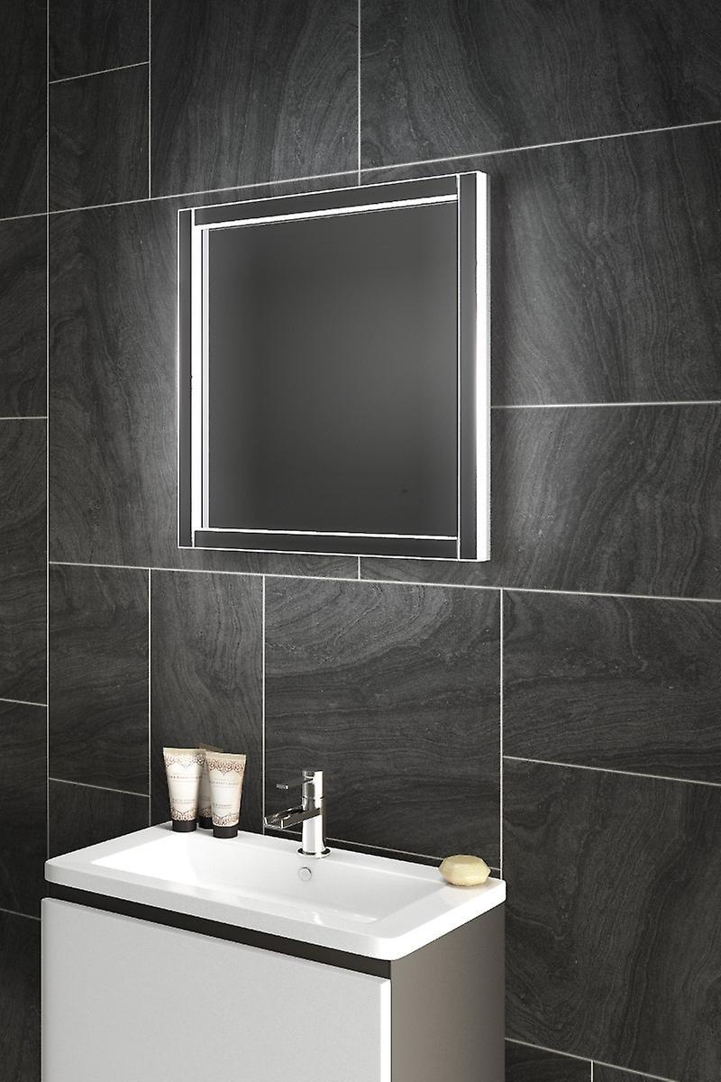 Diamond x capteur Truss miroir de salle de bain avec Infra-Rouge et de la tablette de désembuage