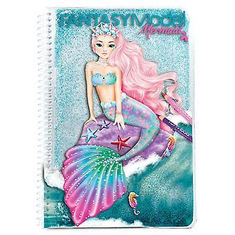 TOPModel 10036 Fantasy Modell Färbung Buch Meerjungfrau
