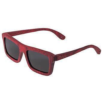 Spectrum Clark Wood Polarized Sunglasses - Cherry/Black