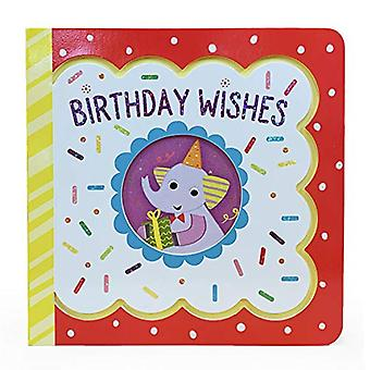 Birthday Wishes: Large Little Bird Greetings [Board book]