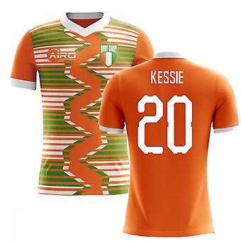 2020-2021 Ivory Coast Home Concept Football Shirt (Kessie 20) - Kids