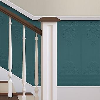 Paintable Wallpaper Paste The Wall Luxury Vinyl 10 Panels Per Roll Anaglypta Baroque
