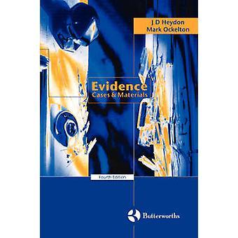 Beviser tilfælde materialer af Heydon & J. D.