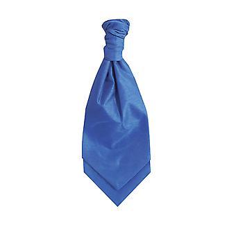 Dobell gutter kongeblå Cravat partiet bryllup Fancy kjole tilbehør Dupion